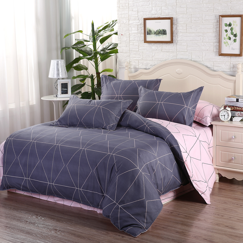 Puredown Comforter Bedding Sets edredon King Size Skirt Sheets set egyptian cotton fabrics quilt Pillowcase 4pcs Duvet Cover Set