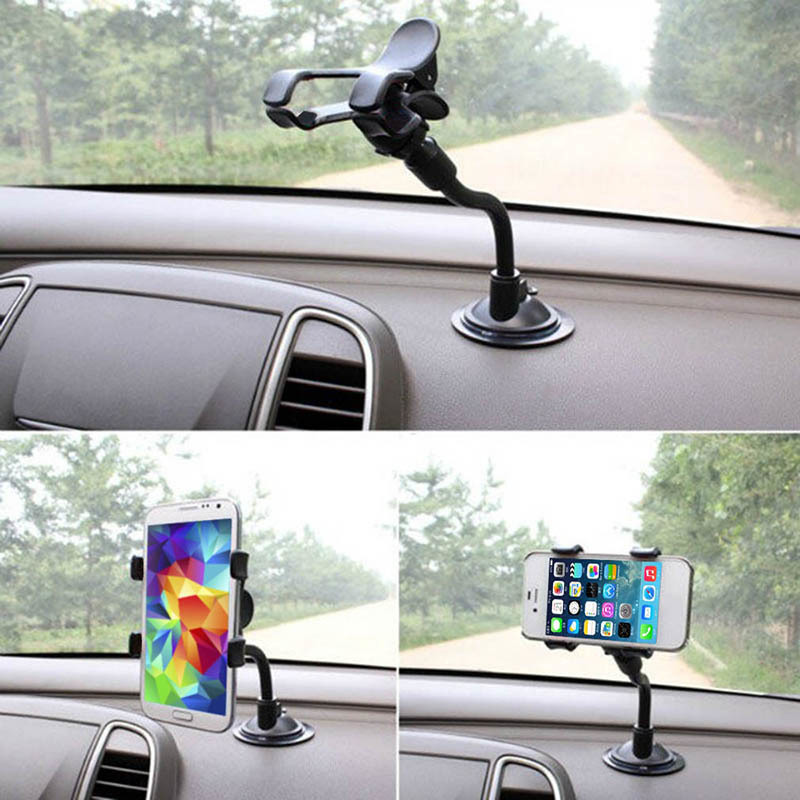 Universal 360 Degree Rotatable Car Holder for Phone GPS Non-slip Firm Suction Cup Support Interior Auto Products Car Accessories