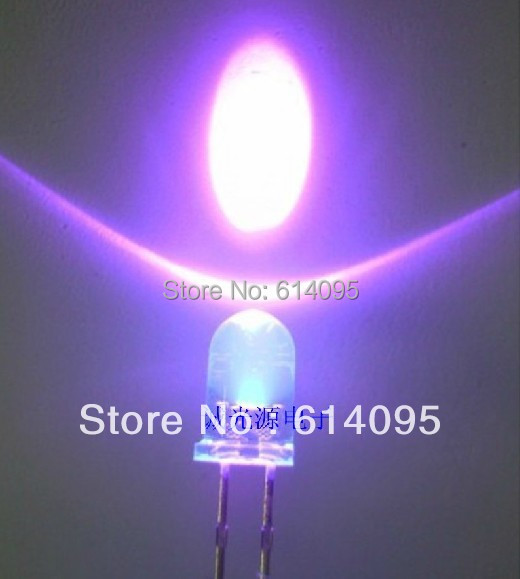 F5 Purple Led Ultra Bright Led To Win A High Admiration Disciplined 300pcs/lot Led 5mm Purple