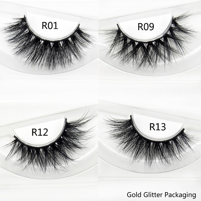 Visofree Eyelashes 3D Mink Lashes Natural Dramatic Volume Eyelashes Extension False Eyelashes Crisscross Handmade Makeup Lashes