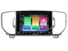 FOR KIA SPORTAGE 2016 Android 8.0 Car DVD player Octa-Core(8Core) 4G RAM 1080P 32GB ROM multimedia gps head device unit stereo