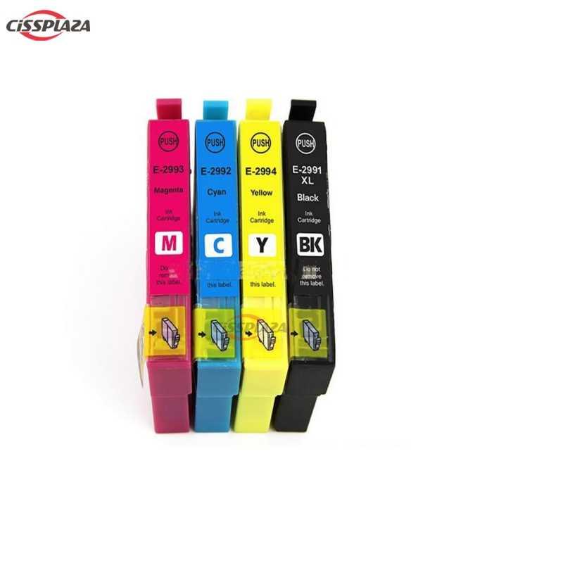 4 Pcs T2991-T2994 29XL 29 Kompatibel Tinta untuk Epson XP235 XP247 XP245 XP332 XP335 XP342 XP345 XP435 XP432 XP445 Printer