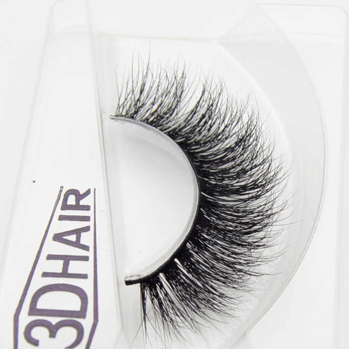 fe2a91c0b2c ... Visofree 3D Mink Eyelashes Upper Lashes 100% Real Mink Strip Eyelashes  Handmade Crossing Mink Eye ...