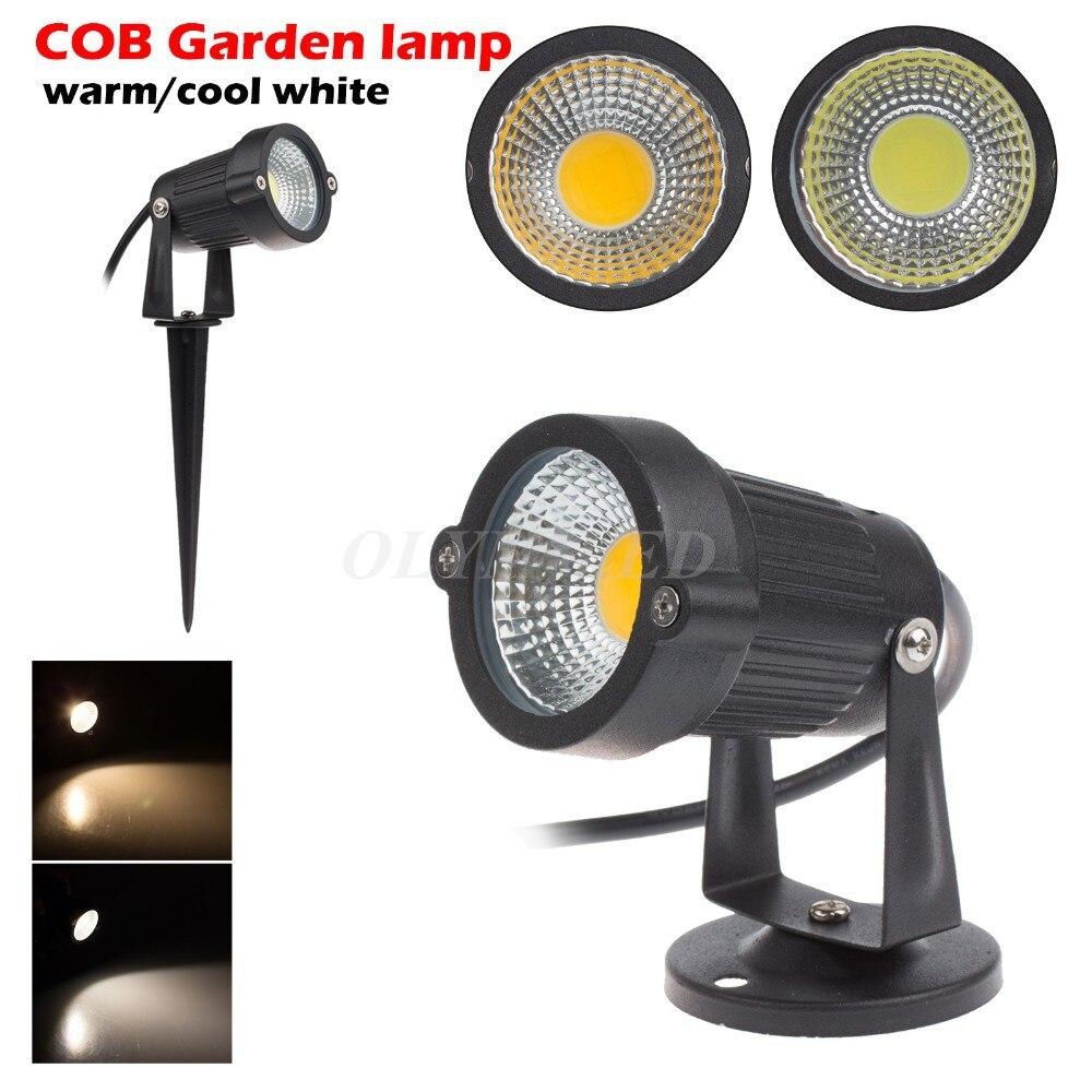 12V Outdoor Garden Lamp LED Lawn Light 5W 7W 10W COB LED Spike Lamp Waterproof IP65