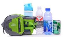 TANLUHU NEW Waterproof Waist Pack Outdoor Sports Travel Climbing Running Gym Bag Shoulder bag kettle package 331