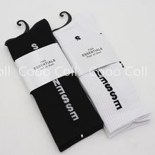 18ss men women long socks hip hop streetwear season 5 kanye west fear of god casual essentials popsocket harajuku cotton socks