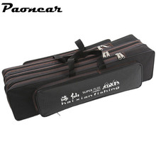 New 70cm/80cm/90cm/120cm Double Layer Portable Tackle Bags Case Tube Storage Organizer Backpack Fishing Accessory