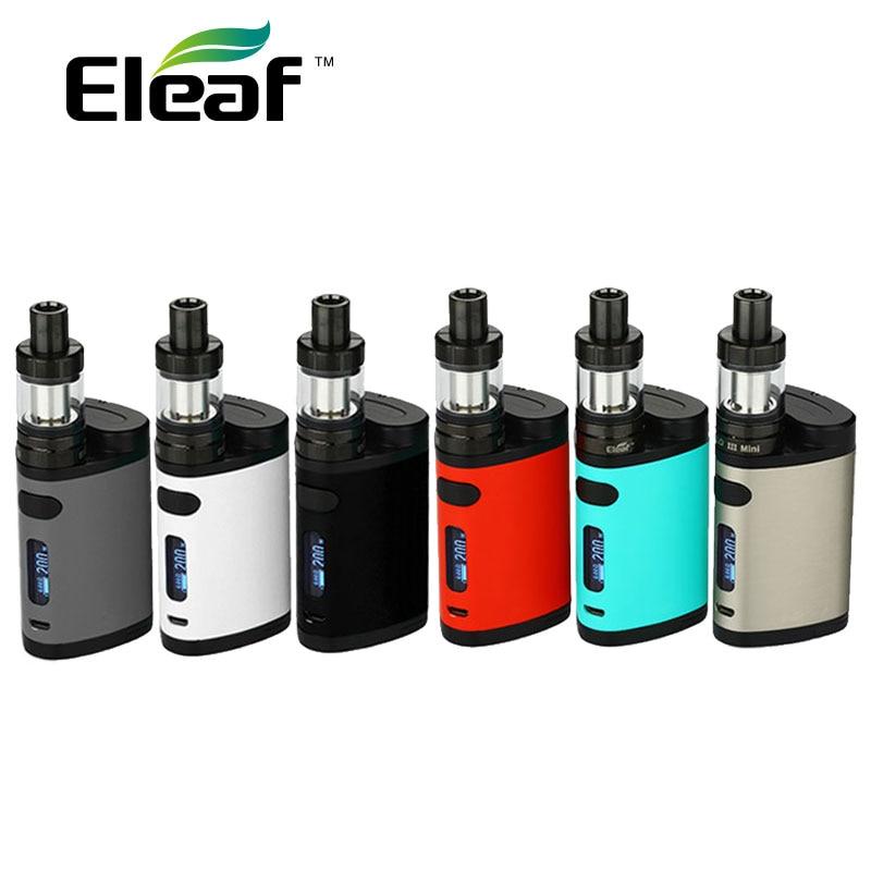 Nuovo Originale Eleaf Pico Dual TC Kit 200 W con Pico Doppio Box Mod e Eleaf MELO 3 Mini Atomizzatore 2 ml vs istick Pico Mod 75 W