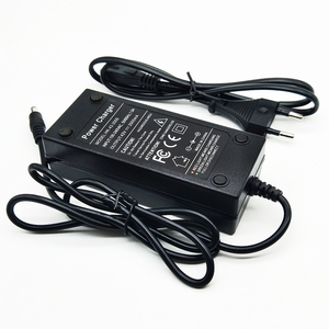 Image 3 - 36 v 2a carregador 10 séries de carregador de bateria de lítio 42 v veículo elétrico carregador de bateria de lítio
