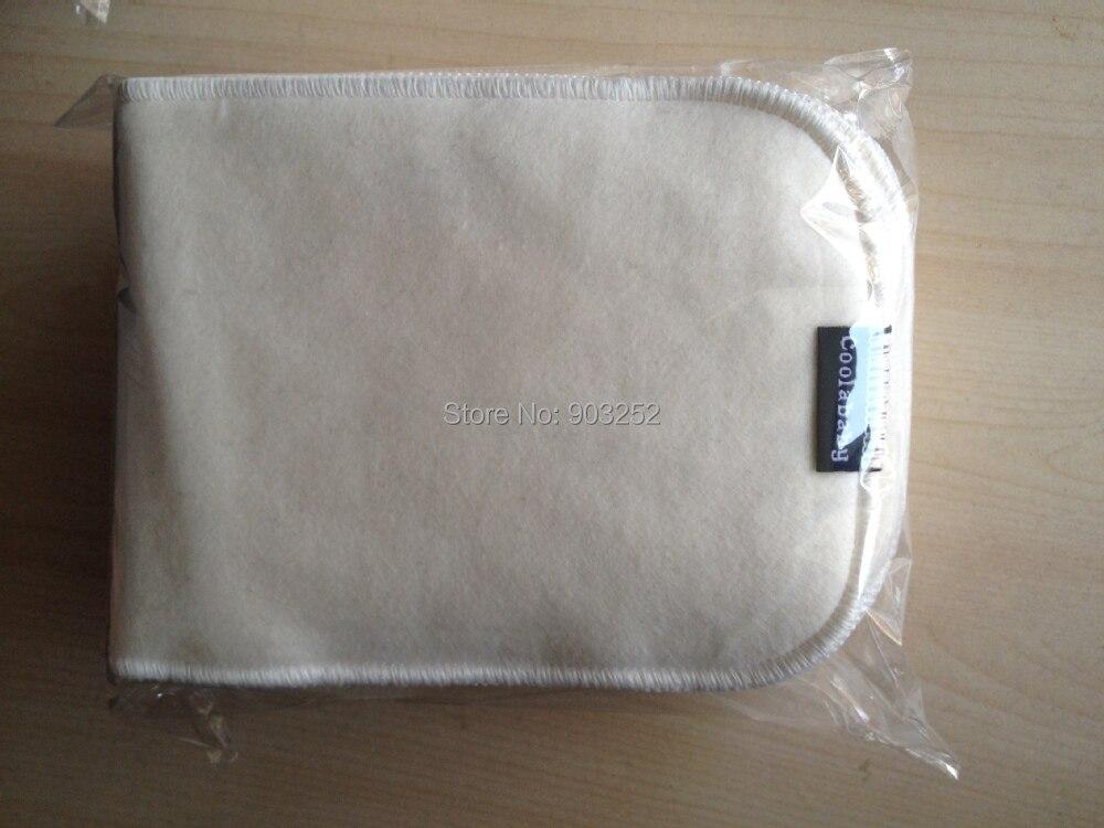 1 шт.-Coolababy льняное волокно/бамбуковое волокно Детские Вставки для ткани подгузники/Детские льняные подгузники изменение колодок и обложек