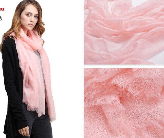Élégant intérieur mongolie 100% 300 cachemire laine écharpe châle Wrap femmes filles dames écharpe cadeau de noël 230*100 cm #3962