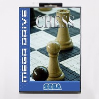 Chess 16 bit MD Game Card With Retail Box For Sega Megadrive/Genesis