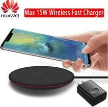 HUAWEI QI Беспроводное зарядное устройство оригинальный тип C CP60 WPC Smart 15 Вт Max HUAWEI mate 20 Pro RS совместимый для IPhone samsung Xiaomi