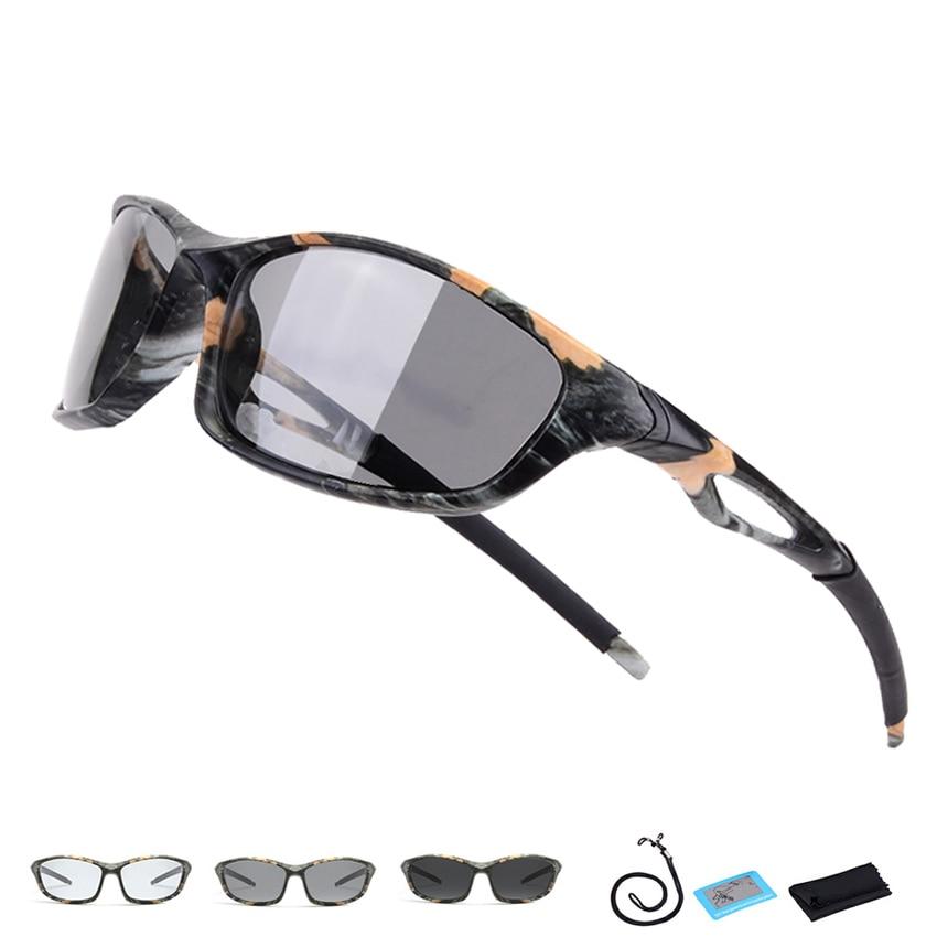 Hot Sale Polarized Photochromic Hiking Glasses Men Women UV400 Hunting Goggles Camping Eyewear Sport Climbing Fishing Sunglasses