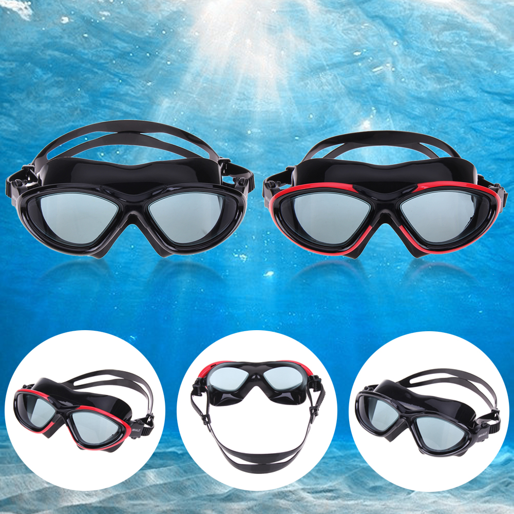 3 Colors Unisex Water Sportswear Anti-fog UV Shield Protection Waterproof Swimming Eyewear Goggles Swimming Glasses
