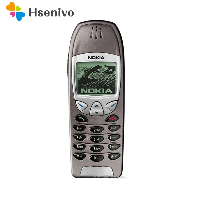 6210 Original Unlocked Nokia 6210 Mobile Cell Phone 2G GSM 900/1800 Unlocked Cellphone Free Shipping