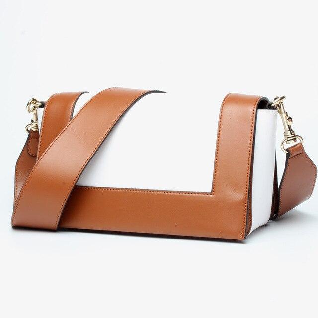 Moda de couro genuíno bolsa feminina bolsas luxo vl rosa e cinza pequeno mensageiro bolsa ombro panelled sacos crossbody 1