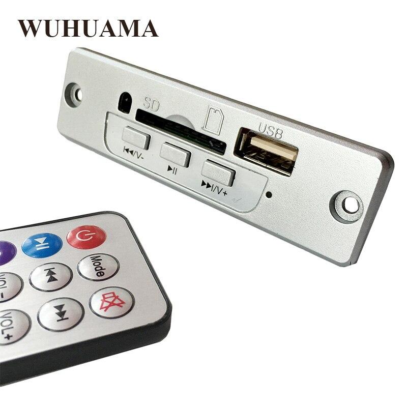 Серебряный Цвет DC5V MP3 декодер доска построен в 3 Вт Усилители домашние с Дистанционное управление Поддержка SD карта usb-плеер 5 В 3 Вт декодер доска
