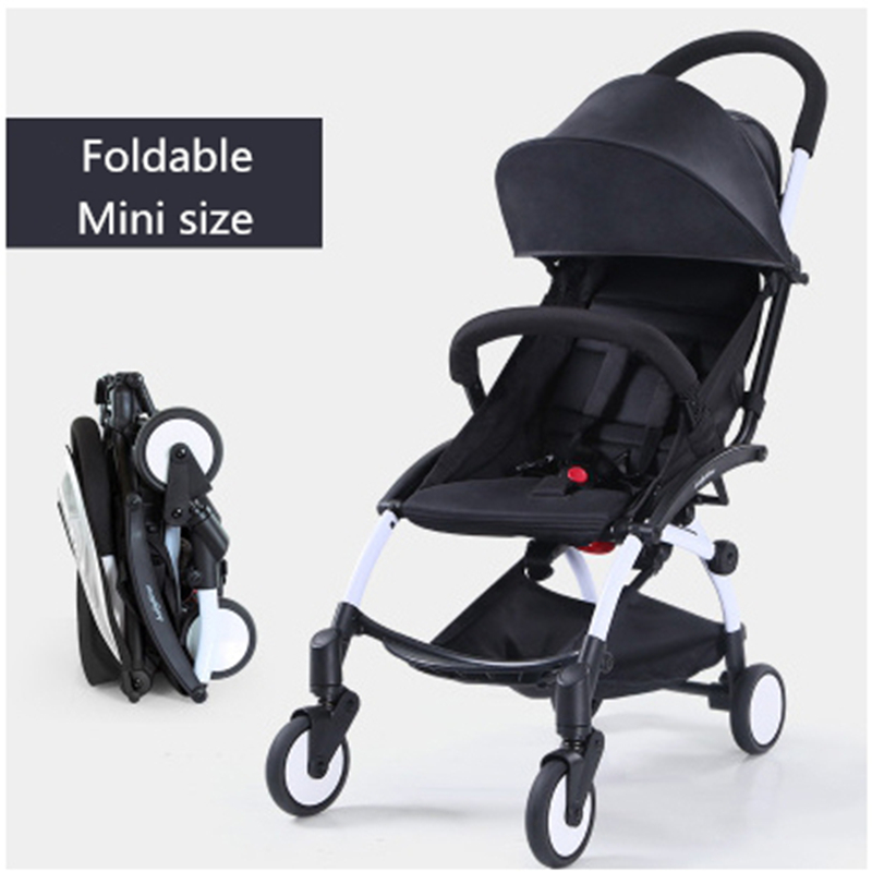China cheap Folding baby stroller hot Mommy stroller portable pram lightweight stroller poussette baby carriage 3 in 1 to Russia china cheap lightweight baby stroller 5 9kg 7 free gifts folding carriage buggy pushchair pram newborn bb car shipping russia