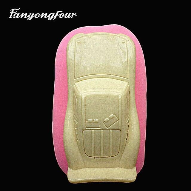 3D Car Cake Mold Stampo In Silicone Cioccolato Gesso Candela del ...