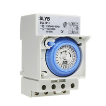 AC 220V 16A 24 hours Analog Mechanical Time Switches Manual /Auto Control SUL181H timer Manual/Auto Controller Time Switch