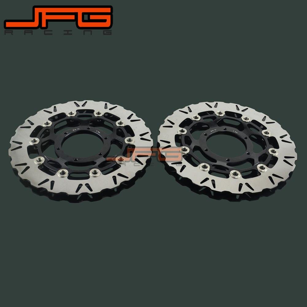 1 Pair Motorcycle Front Floating Brake Disc Rotor For CBR1000RR CBR100 RR 06-07 VTR 1000 VTR1000 SP1 2000-2001 SP2 02-07 RC51