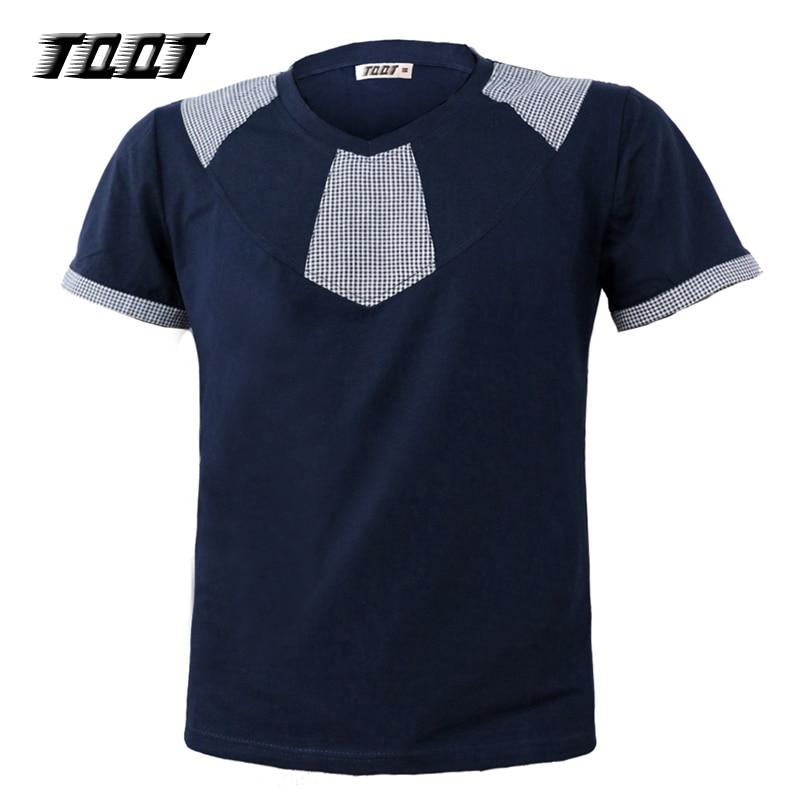 TQQT Camisas de hombre Camisetas cortas Patchwork Camisetas Camisa - Ropa de hombre
