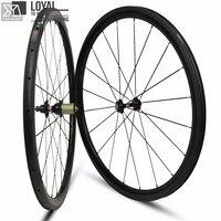 38mm carbon wheelsets for climbing cycling road bike wheels 25mm width U Shape Tubeless rims UD/3K/12K disc brake