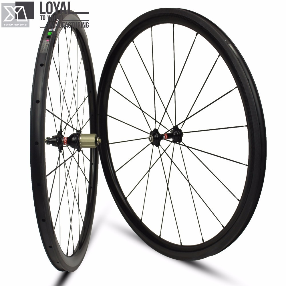 38mm carbon wheelsets for climbing cycling road bike wheels 25mm width U-Shape Tubeless rims UD/3K/12K disc brake carbon wheels 700c 88mm depth 25mm bicycle bike rims 3k ud glossy matte road bicycles rims customize carbon rims