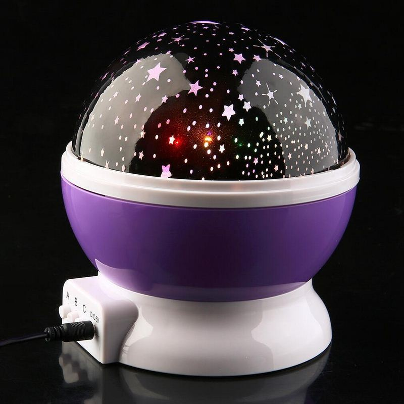New Stars Sky LED Light Up Toy Projector Moon Novelty Toys Glow In The Dark Toys For Kids Baby Children Sleepings Christma Gift (3)