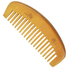 Natural Health Care Comb Anti-static Peach Wood Hair Curved Shape Of Sandalwood Popular