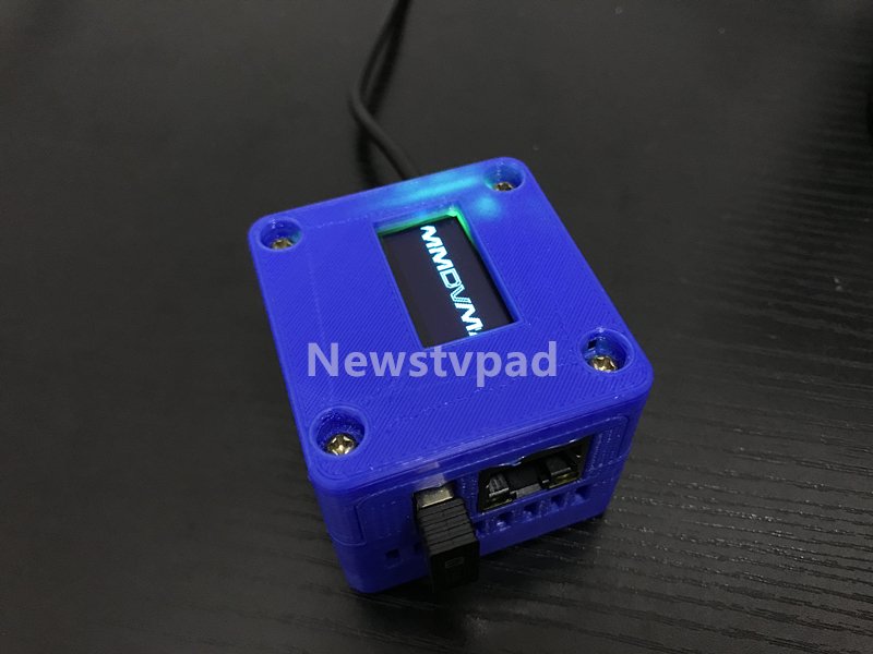 blue Nano Hotspot MMDVM NanoPi NEO UHF 433MHz 3D Shell HAM DIY Kit Support DMR D-STAR for DMR D-STAR Nano pi,PC,Android used n2qayb000128 remote control for panasonic dvd blu ray disc player dmr ex77 dmr ex78 dmr ex88