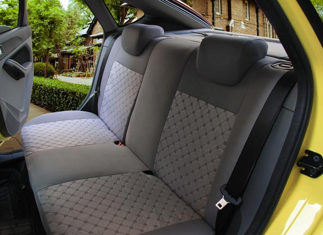 Universal assento de carro cobre para Citroen c2 c3 c4 c5 dreno acessórios do carro etiqueta do carro