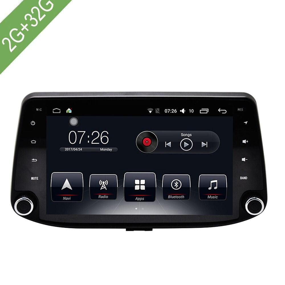 Lecteur multimédia de voiture 1 Din Android 7.1 DVD de voiture pour Hyundai I30 2017-2018 9
