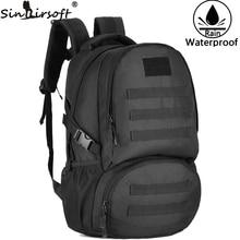 Outdoor Climbing Sport 1000D Nylon Shoulder Bag for Men Military Tactical Rucksack Travel Hiking 35L Waterproof Bag Backpack