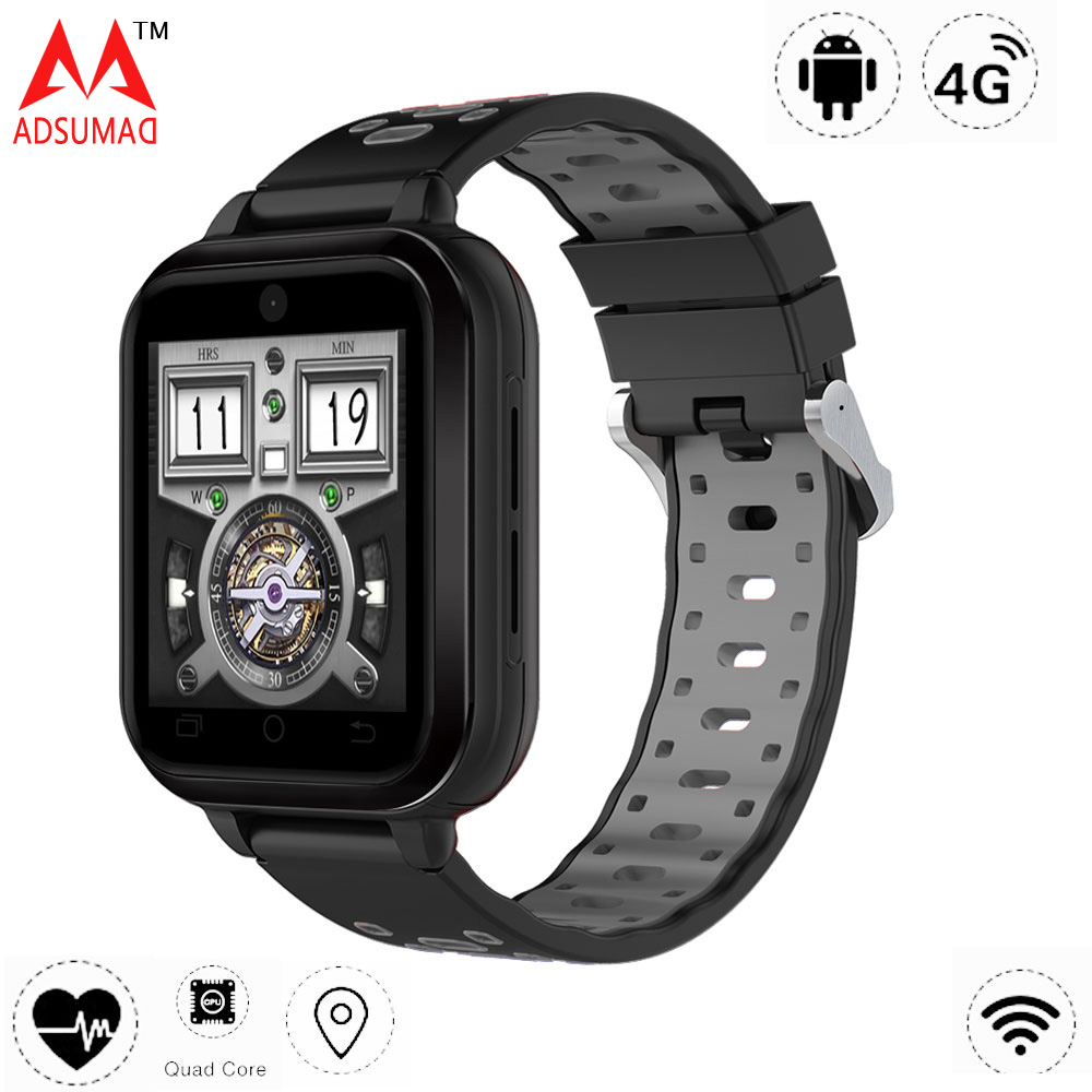 Smart watch Q1 Pro 4G Android Phone Support SIM card 4G MTK 6737 Quad Core 1G 8G GPS wifi heart rate monitor OLED screen мтс smart sprint 4g sim lock white