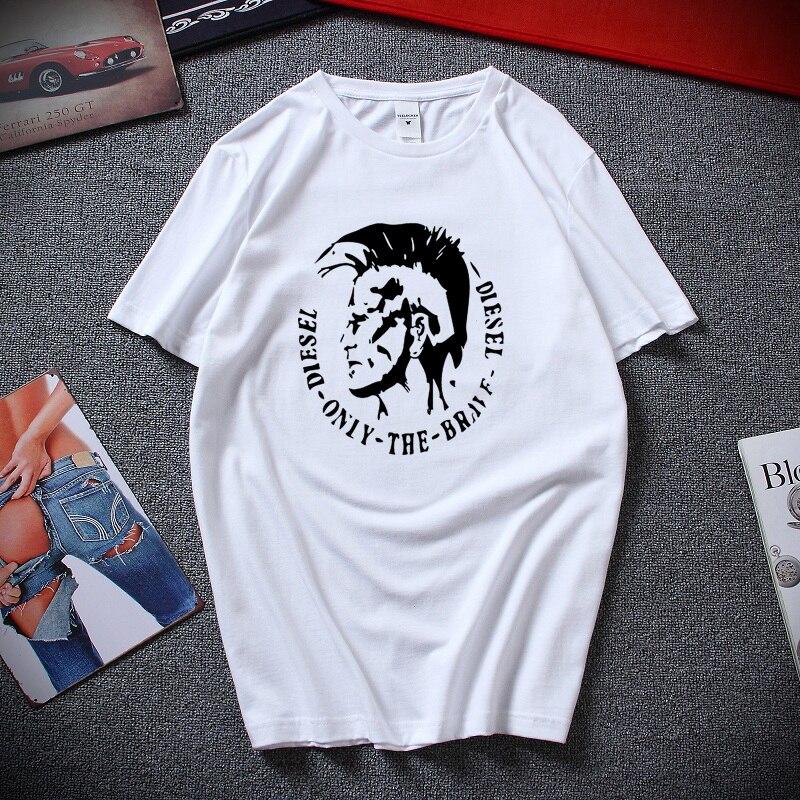b38e555fb5a2 2018 nueva moda de verano para Hombre Camisetas de cuello redondo talla  grande ropa hombres de manga ...