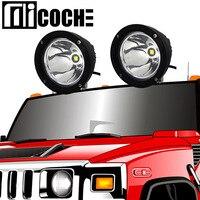 1pcs 25W LED Car Work Light Spotlight Headlight For Jeep Compass Grand Cherokee Patriot Wrangler Liberty