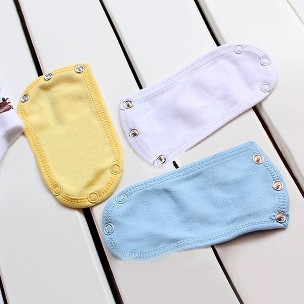 4Pcs/Set Multifunction Soft Cotton Baby Jumpsuit Jumpsuit Diaper Jumpsuit Extension Extender 4 Colors Baby Care Products