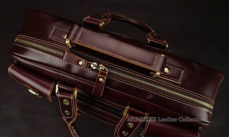 Роскошные мужские дорожные сумки из натуральной кожи, сумка для багажа, большая мужская сумка для путешествий, кожаная дорожная сумка для путешествий, большая сумка M038