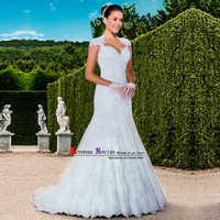 vestido de noiva sereia Sexy China Bridal Gown hochzeit Luxury Beaded Lace Mermaid Wedding Dress 2018 Robe de Mariee Matrimonio