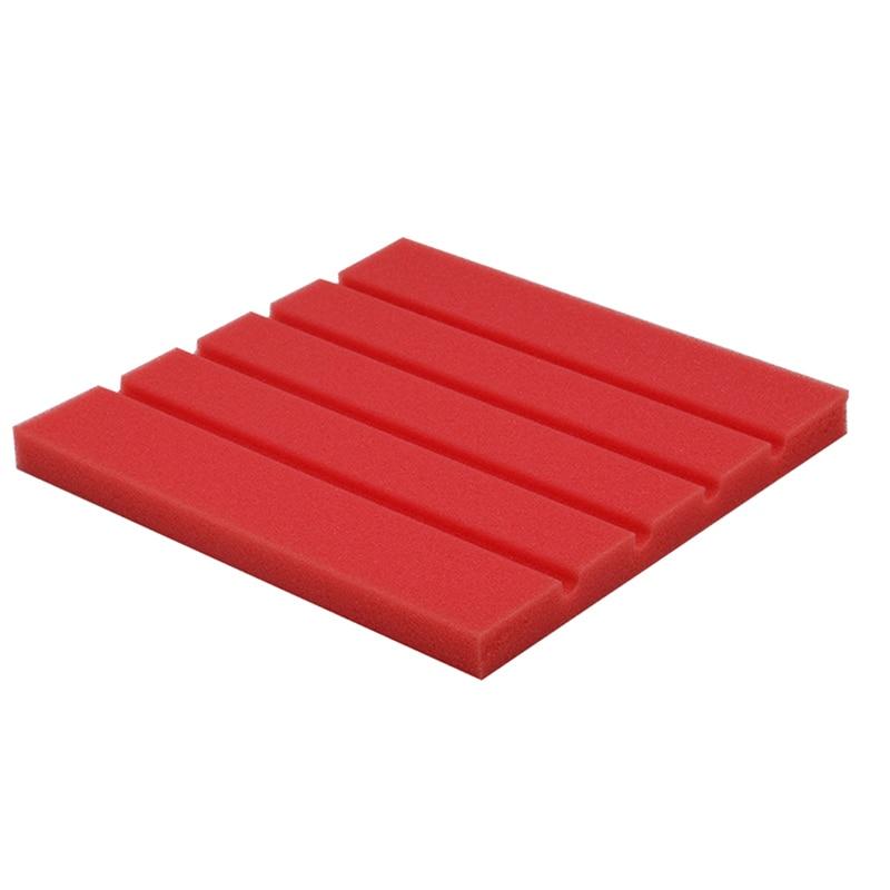 25x25x2cm Acoustic Panels Soundproof Wall Stickers Sponge Studio Foam Treatment Excellent Sound Insulation Sticker Decoration