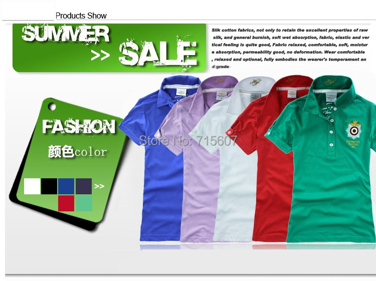 aeronautica militare air force shirt for women lady polo shirt genius polo wear brand shirt 2014