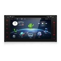 Автомагнитолы 2 Din Android 6,0 Quad core gps навигации для Toyota RAV4 Hilux VIOS Camry Prado 2003 2008 с 4G LTE сети