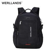 Werllands бренд мужской рюкзак легкий комфорт Мода городской рюкзак для 14-17 дюймов ноутбука дышащая рюкзак Mochila школьная сумка
