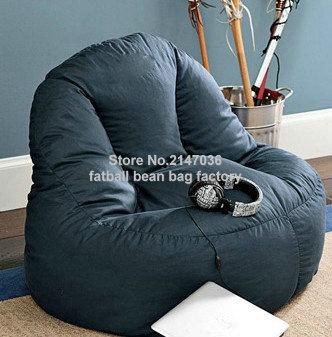Living Room Bean Bag Sofa Chair, Home Seat Furniture Set, Waterproof Outdoor Beanbag Sofas