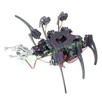 20DOF Aluminium Hexapod Robotic Spider Six Legs Robot Frame Kit