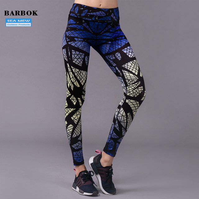 d20e45c24acd5f BARBOK Spider Sublimation Printed Yoga Leggings Women's Workout Elastic  Running Gym Fitness Pants Sexy Sport Tigths