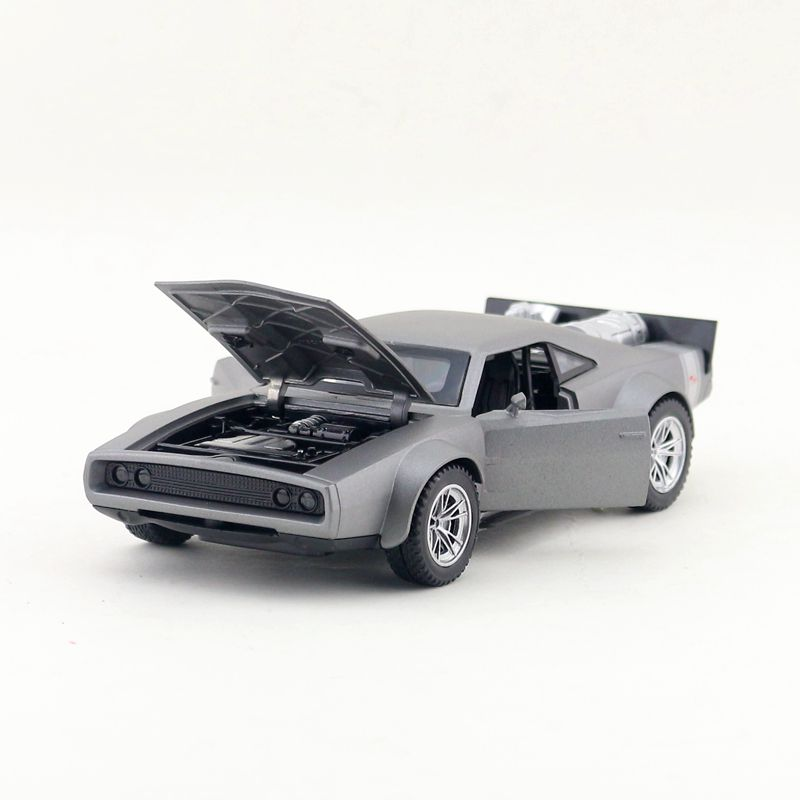 1:32 15.5cm delicate Fast and Furious Dodge Charger R/T sports car vehicle acousto-optic alloy pull back model boy toy