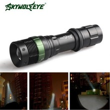 Skywolfeye Flashlight 3500 LM 3 Modes T6 LED Rechargeable 18650 Zoom Focus Torch Light VEJ97 P29